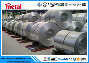 China Thickness 4 - 5 Mm Steel Electrogalvanized Cold Rolled Coil , Silver 304 Stainless Steel Plate on sale