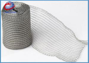 China Metal Color Demister Wire Mesh , Stainless Steel Knitted Mesh Multi Function on sale