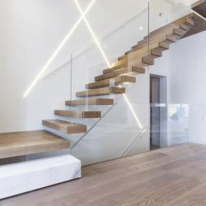 Beau Quality Home Used Diy Wooden Floating Staircase Fancy Timber Stairs For Sale