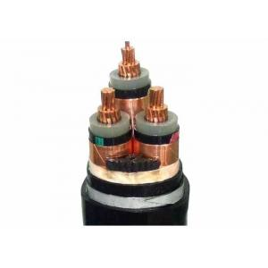 China 3 Core LSHF Cable , 6/ 10 KV XLPE Insulated Copper Wire Armoured Cable on sale