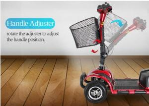 China Medicare Approved Mobility Scooters , Electric Disabled Scooters Adults on sale