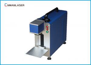 China Economic Jewlery Plastic Optical Fiber LaserMarkingMachine10W 30W on sale