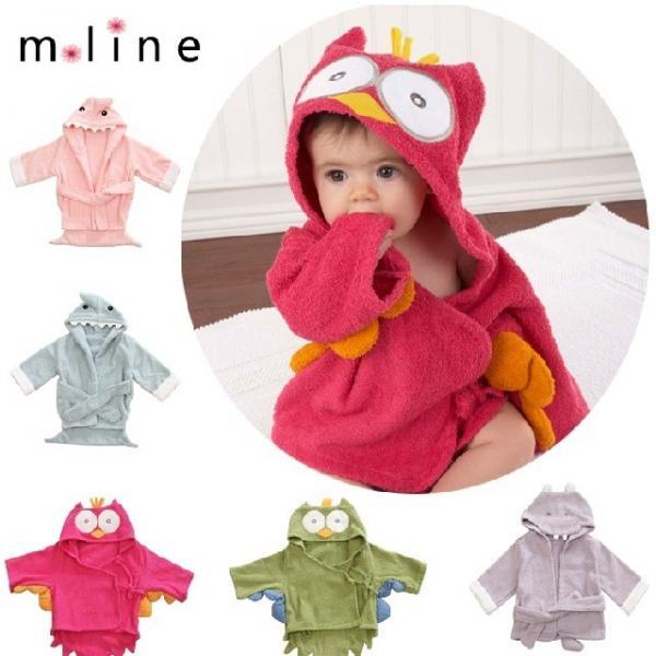 86868c2b8a New Hooded Animal modeling Baby Bathrobe Cartoon Baby Towel Character kids  bath Images