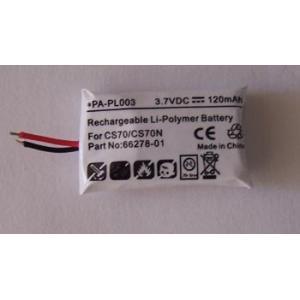 Quality Batterie 66278-01 PA-PL003 de Plantronics CS70 for sale