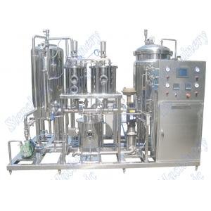 China 3000LPH Automatic Beverage Mixing Machine For Beverage And CO2 Mixing on sale