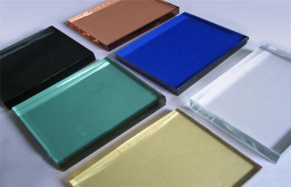 10mm Decorative Glass Panels , Silk Screen Print Colored Glass ...