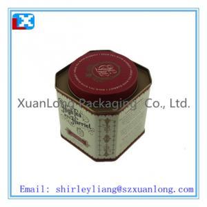China Colorful customized tea tin box wholesale on sale