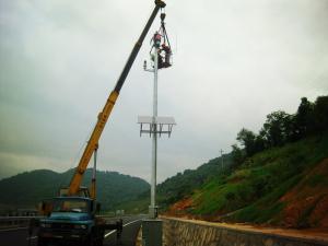 China Do vento sozinho das turbinas de Maglev do suporte sistema de vigilância video híbrido solar on sale
