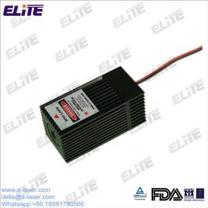 China FDA adapté aux besoins du client certifient le module de laser de vert de la puissance élevée DPSS de 532nm 30mw-200mw avec le refroidisseur TECHNIQUE on sale