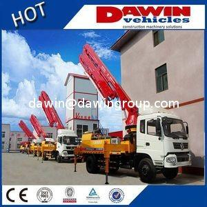 China CE Approved 18m 21m 25m 28m Truck Concrete Boom Pump Truck for Sale on sale