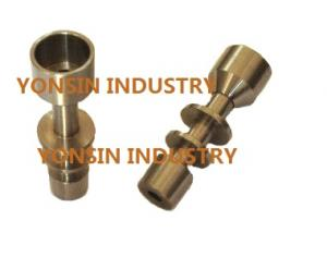 China GR2 titanium nail, titanium domeless nail for smoking on sale