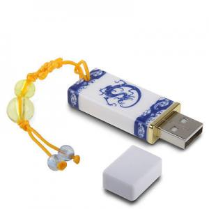 China Chinese Style Classic Artistic Imitation Ceramic USB Flash Drive on sale