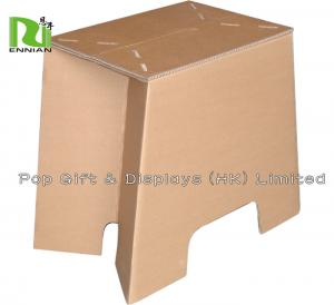 China Recycled Kids Cardboard Chair / Caidboard Stool at home or Kindergarten on sale