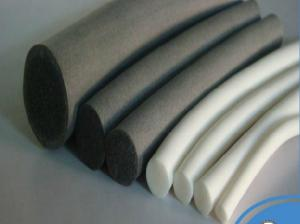 China RoHS Compliant Silicone Foam Tube Sponge Strip Heat Resistant For Medical Equipment on sale