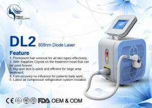 China Super Cooling Germany Bars Portable 808nm Diode Laser Body Hair Removal Machine on sale