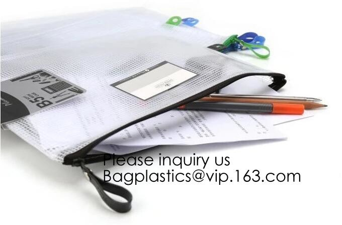 B5 Polyvinyl Chloride 12 x PVC Black//Blue//White//Yellow//Green//Red School Office Zip Wallets Document Folders Files Pouch Bags