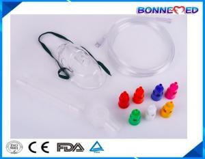 China BM-5403 High Quality Best Selling Medical PVC Transparent Medical Venturi Oxygen Facial Mask on sale