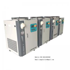 China Industry Laser Equipment Parts Air Cooled Chiller Price Best Water Cooling System For Laser on sale