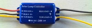 China solar charge controller/regulator 0.5A-3A for solar garden light/solar warning lamp/remote on sale