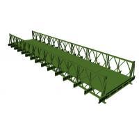 200 Type Bailey Bridge With SS (Single Row Single Layer)  Q345B prefabricated steel material