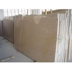 China Hottest Popular Rusty Golden Yellow G682 Granite big polished slabs tiles on sale