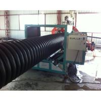 China large diameter low price PE HDPE corrugated drain pipe machine extrusion line production machine for sale on sale