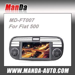 China stéréo de voiture du vacarme 2 pour Fiat 500 avec la navigation satellite de généralistes de radio de GPS DVD Bluetooth le RDS on sale