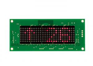 China SN-SM-04-HRC Round Dot Matrix Elevator Display Panel / Board For COP on sale