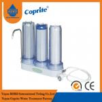 Triple Filtration Three Stage Countertop Household Water Filter PP Activated Carbon