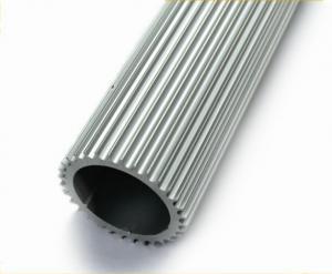 China Perfis de alumínio da extrusão do dissipador de calor do hardware da construção com a forma personalizada on sale