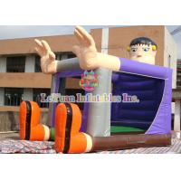 Little Boy Commercial Bounce House Add Character For Birthday Party