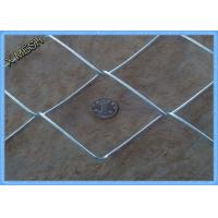 """2"""" X 2"""" Heavy Duty Galvanised Chain Link Fencing2 X 25 Meters Smooth Surface"""