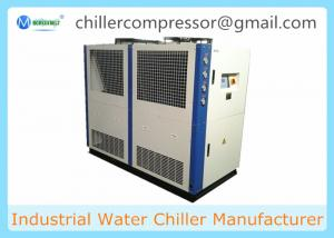 China 5C to 35C 15 Tons 55KW Air Cooled Water Chiller for Plastic Processing Machine on sale