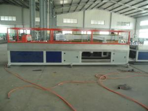 China Waterproof WPC Profile Extrusion Line , PE PP PVC Production Line on sale