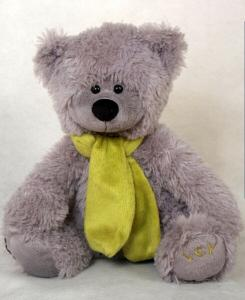 China Stuffed Plush Teddy Bear Toys Grey Bear Teddy Bear on sale