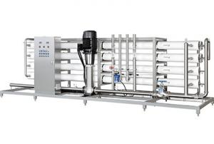 China 1000L / H RO Pure Water Making Machine / Mineral Water Treatment Equipment High Efficiency on sale