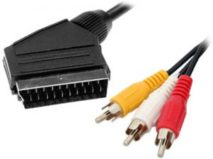 China 21pin scart cable flat on sale