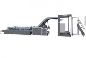 China Carton Cold Flute Laminator Machine , Cardboard Laminating Machine on sale