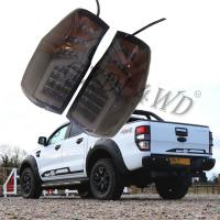 China Black Dynamic Car Rear Light For Ford Ranger 2012-2019 / Led Tail Lamp on sale