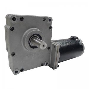 China MCP2 Series Worm Wheel Electric Gear Motor For Solar Tracking Machine / Golf Carts Hoists on sale