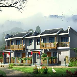 China Fast Build Prefab Tiny House With Bathroom A Frame Kits Ceramic Tiles on sale