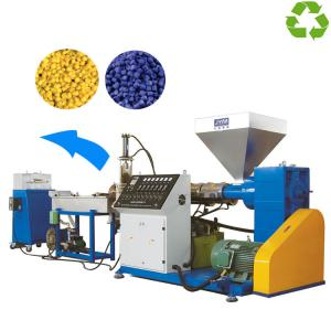 China Customized Color Waste Plastic Recycling Machine 70-100kg/H Capacity on sale