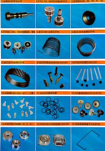 China All type spare parts for OE spinning machine, metallic wires, twisting parts, spring, cover etc, good price & quality, on sale