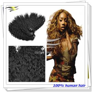 China 2014 Celebrity Fashion Kinky Curly Twist Braids Raw Brazilian Remy Hair on sale
