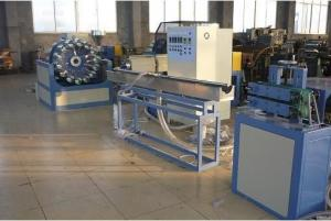 China Fully Automatic Twin Screw Extruder PVC Pipe Production Line With Siemens Motor on sale