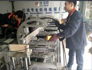 China 630A-2500A Busbar Fabrication Machine Semi - Automation Busbar Processing Machine on sale