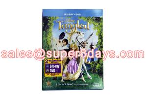 China Tangled (2010) 1BD+1DVD Blue Ray DVD Movies Disney Cartoon DVD Wholesale Supplier Best Quality on sale