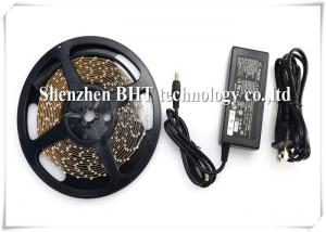 China 3528SMD dc12v/High Lumen flexible Led Strip Lights 8MM PCB IP67 Waterproof Casing on sale