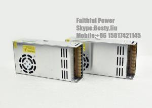China Single Output IP20 12V 24V LED Switching Power Supply 400W CCTV Camera Power Supply on sale