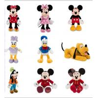 Mickey and Minnie Soft Toy , 8 Inch Stuffed Toys For Babies